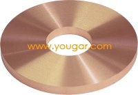Kör alakú Tungsten Réz elektróda
